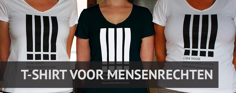 t-shirt voor mensenrechten